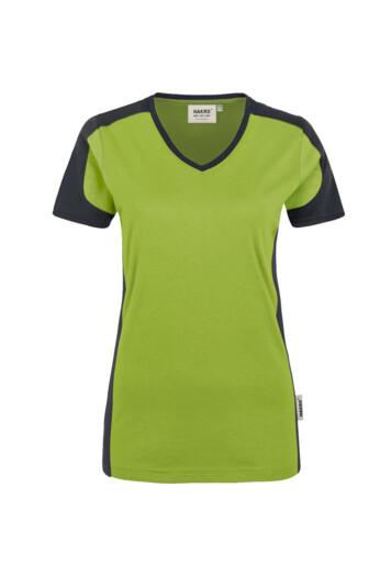HAKRO - T-Shirt Mikralinar® Contrast Damen