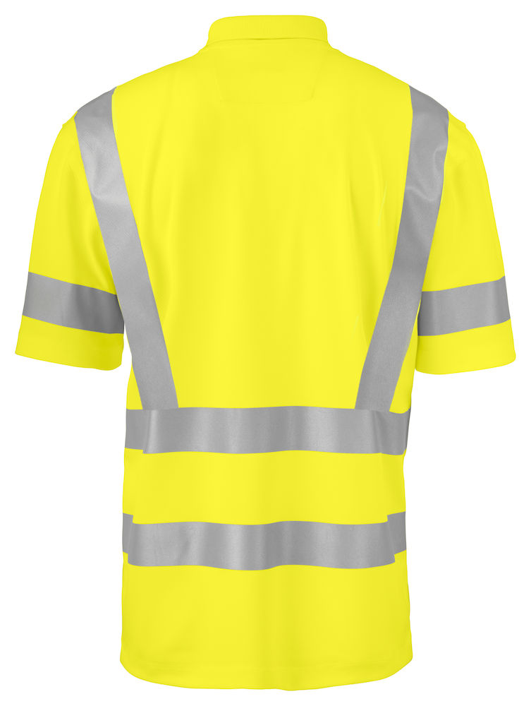 ProJob -  Poloshirt PIQUÉ EN ISO 20471 KLASSE 2/3